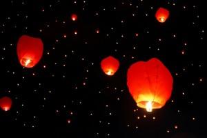 Look at the beautiful Lanterns