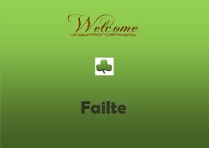 failte welcome