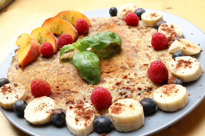 cook pancake healthy eating