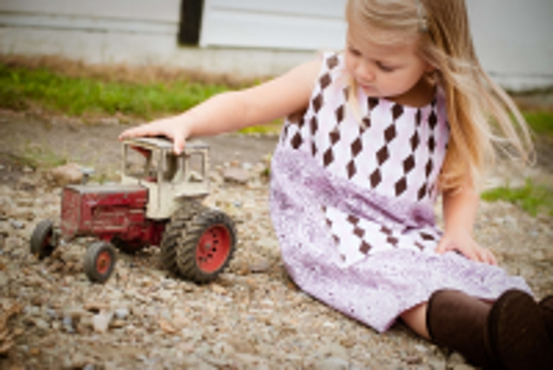 girl on the farm source pixabay